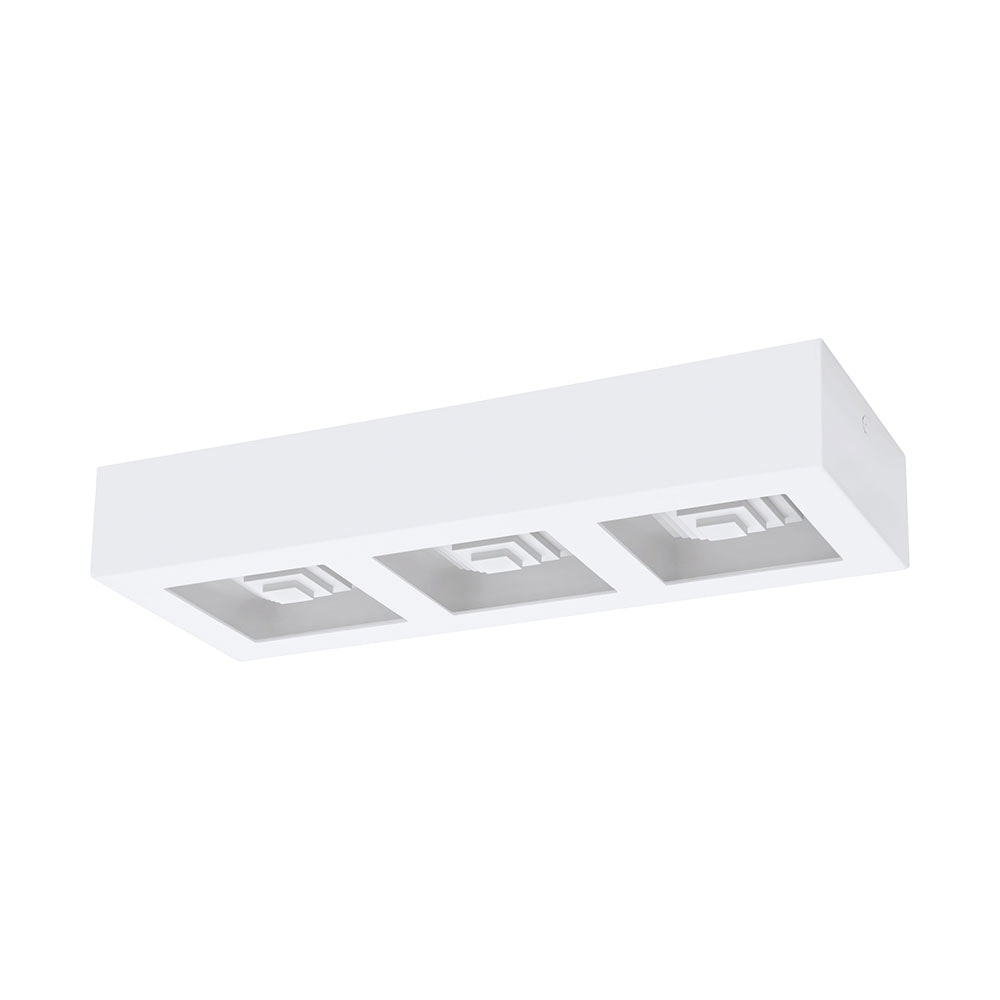 LED Decken- & Wandleuchte 37x14cm Weiß Ferreros