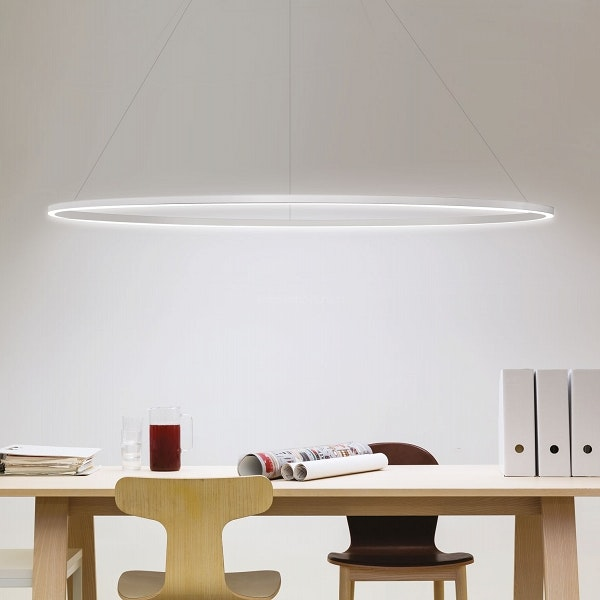 Nemo Ellisse Mega Down LED Hängelampe 186x95cm direkt thumbnail 5