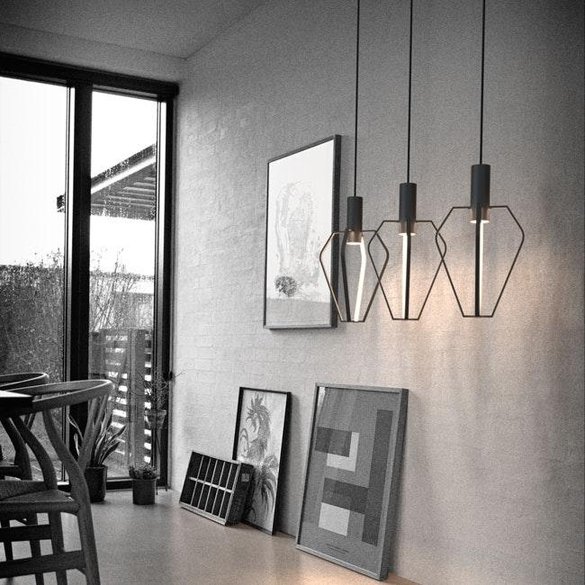 Ragno LED Pendelleuchte in außergewöhnlichem Design 1