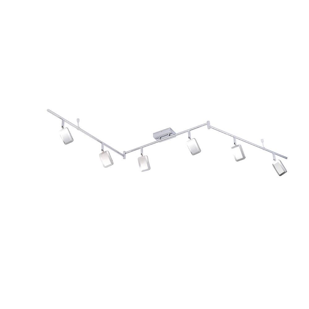 Wella LED Deckenleuchte schwenkbar 6x 4,20W 3000K Chrom 4