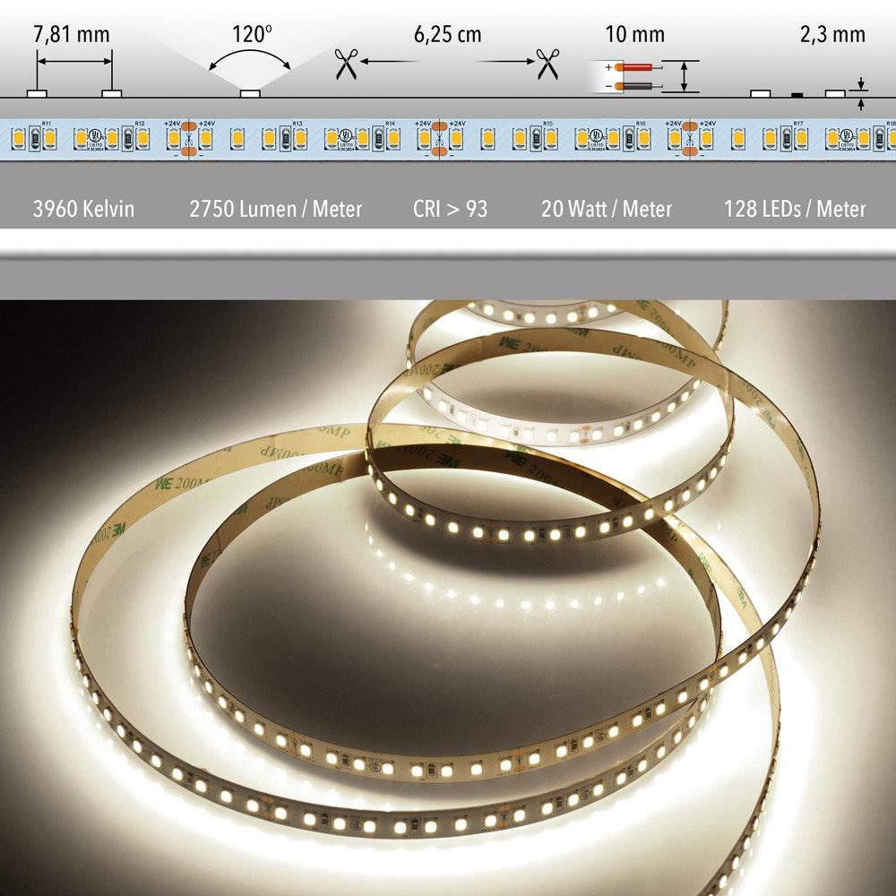 5m LED Lichtband 24V auf Wunsch  17