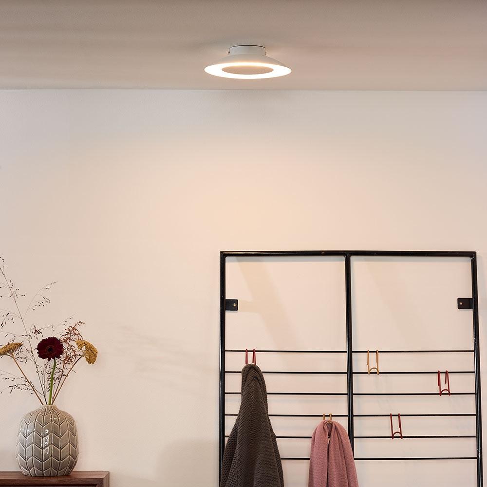 Foskal LED Deckenleuchte Ø 21,5cm Weiß
