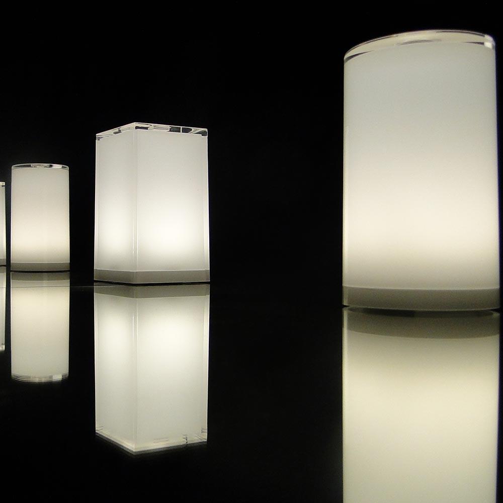 Akku LED-Tischleuchte Tub USB-C mit App-Steuerung 7