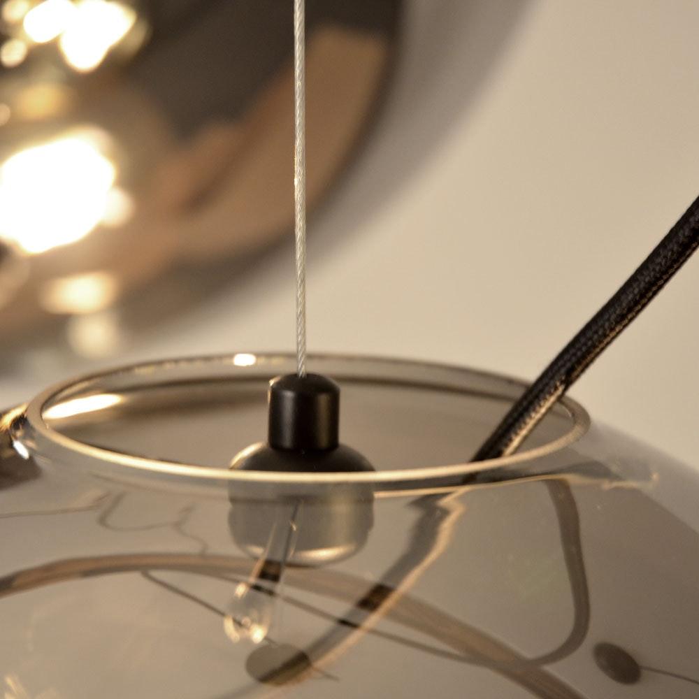 s.LUCE pro Sphere Galerieleuchte Glaskugel 5m Abhängung 2