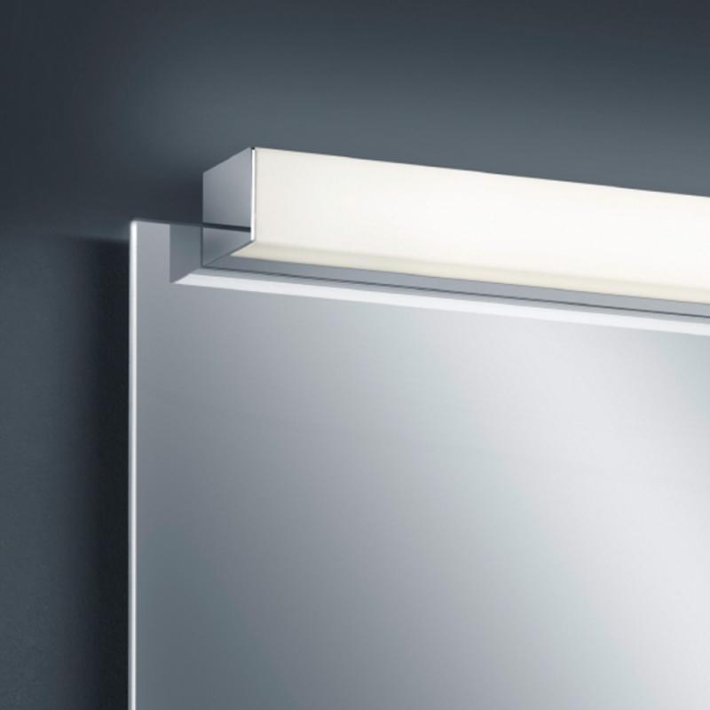 Helestra LED Spiegellampe Lado 120cm 2080lm Chrom warmweiss 4