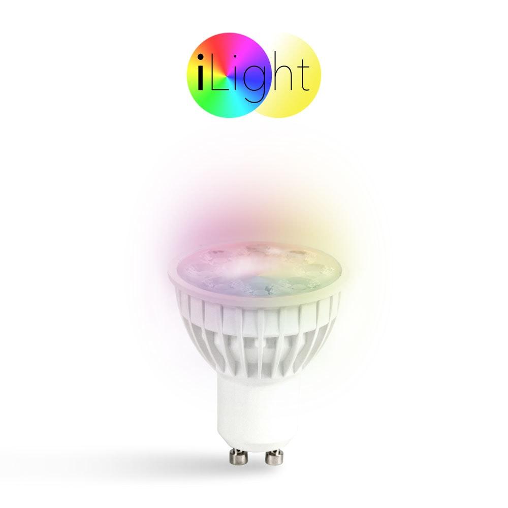 s.LUCE iLight GU10 LED Spot 4W RGB + CCT 2