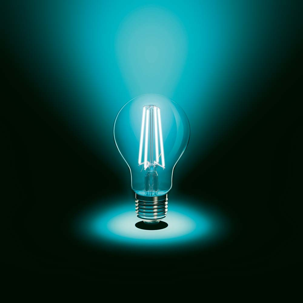 E27 LED Retro Glühbirne 6,5W 810lm Warmweiß 2