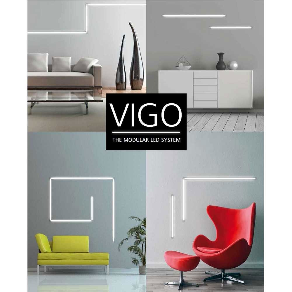 VIGO System LED-Linienmodul 60cm Alu-matt 12