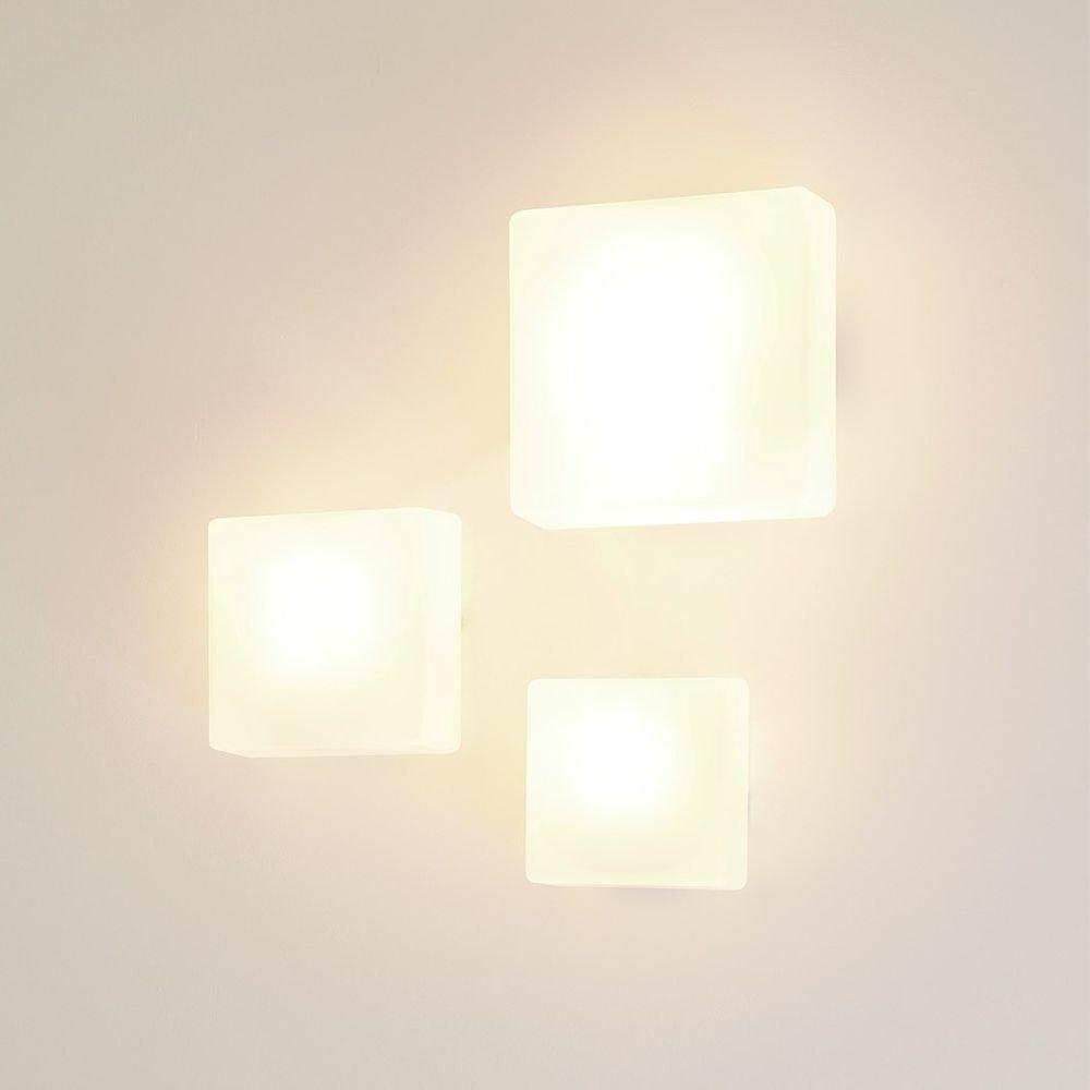 Nemo Quadra Glas Wand- & Deckenlampe Würfel thumbnail 5