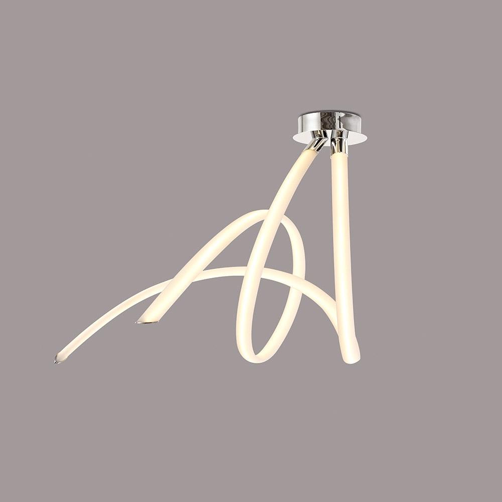 Mantra LED-Deckenleuchte Spirale Armonia 66cm 3