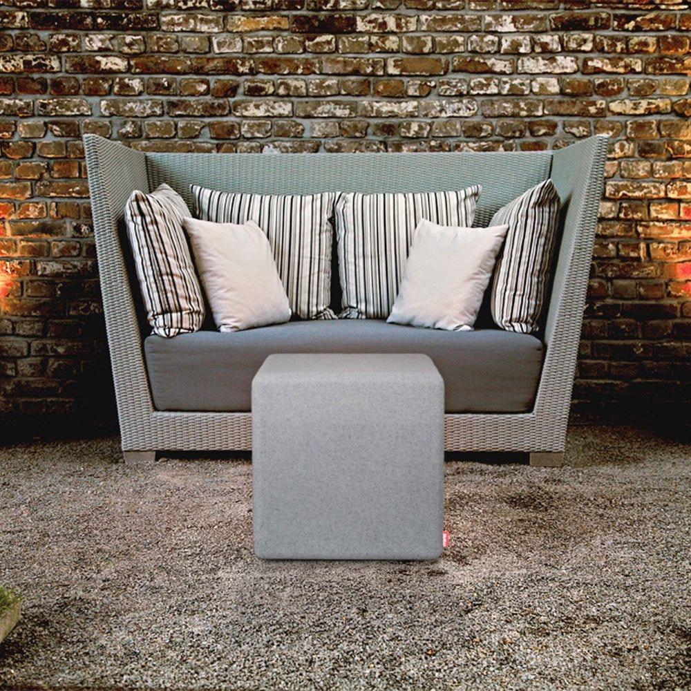 Moree Granite Cube Outdoor LED Sitzwürfel thumbnail 3