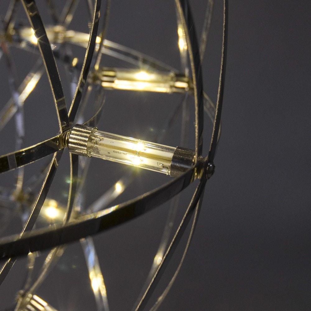 s.LUCE pro Atom 30 dimmbare LED-Hängeleuchte Metallkugel 11