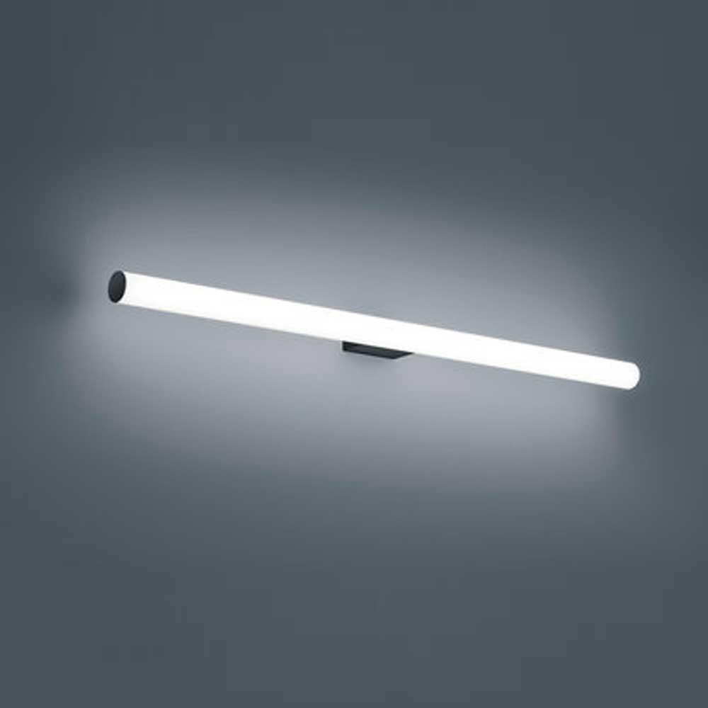 Helestra LED Bad Spiegelleuchte Loom 10cm 10lm Schwarz Warmweiß