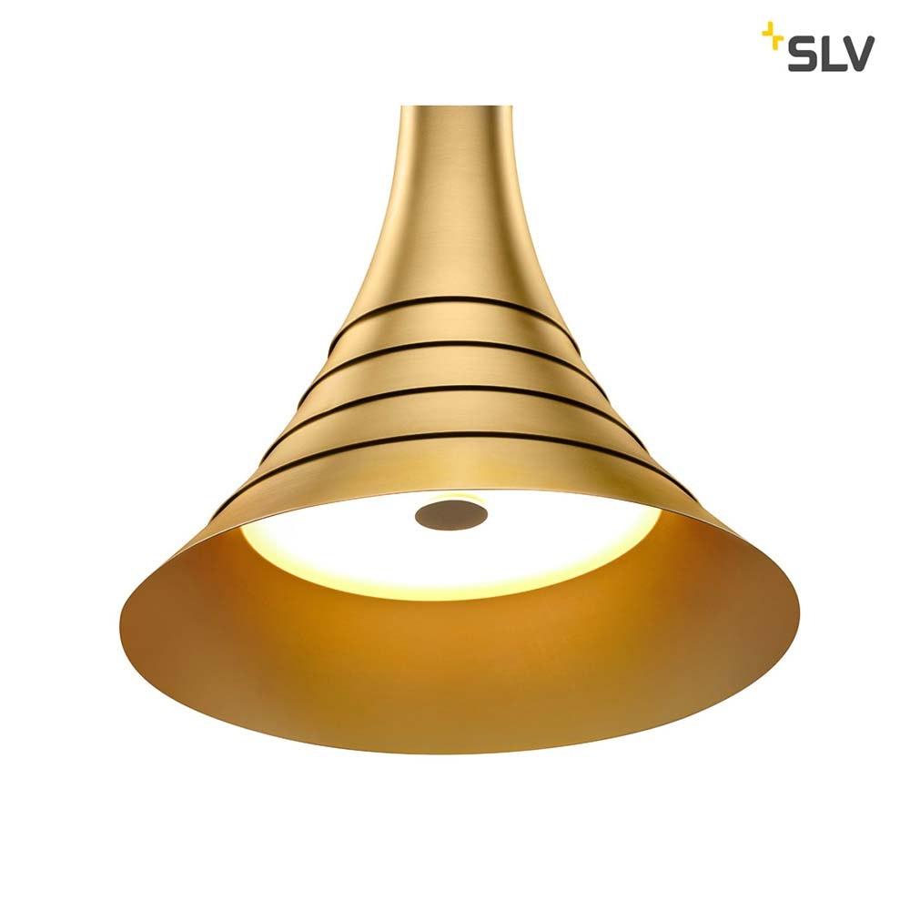 SLV Bato 45 LED Pendelleuchte Messing 4