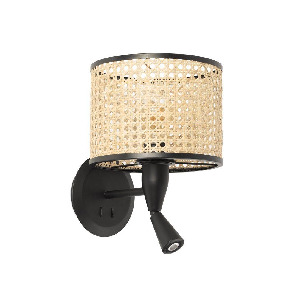 Mambo Wandlampe mit LED-Leselicht 1