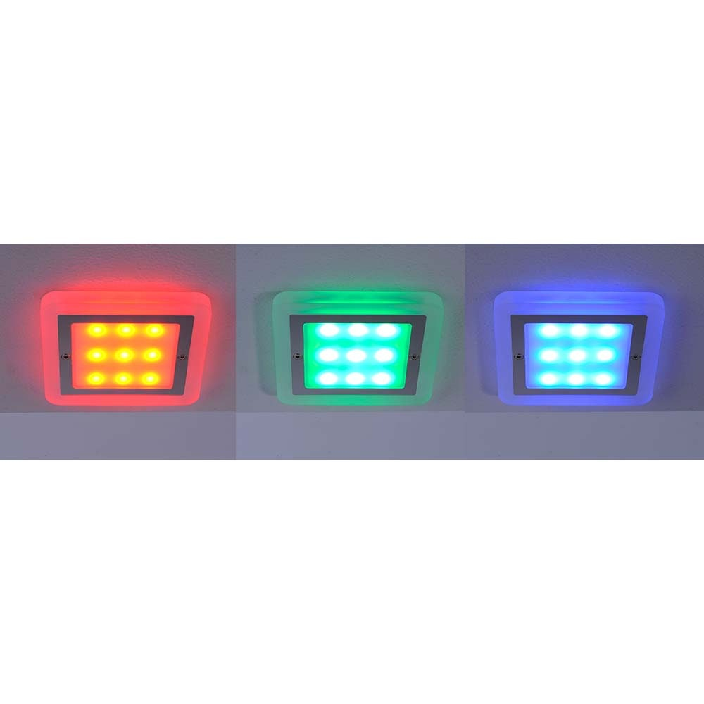LED Einbaulampe Q-Vidal Erweiterung RGB+CCT 4