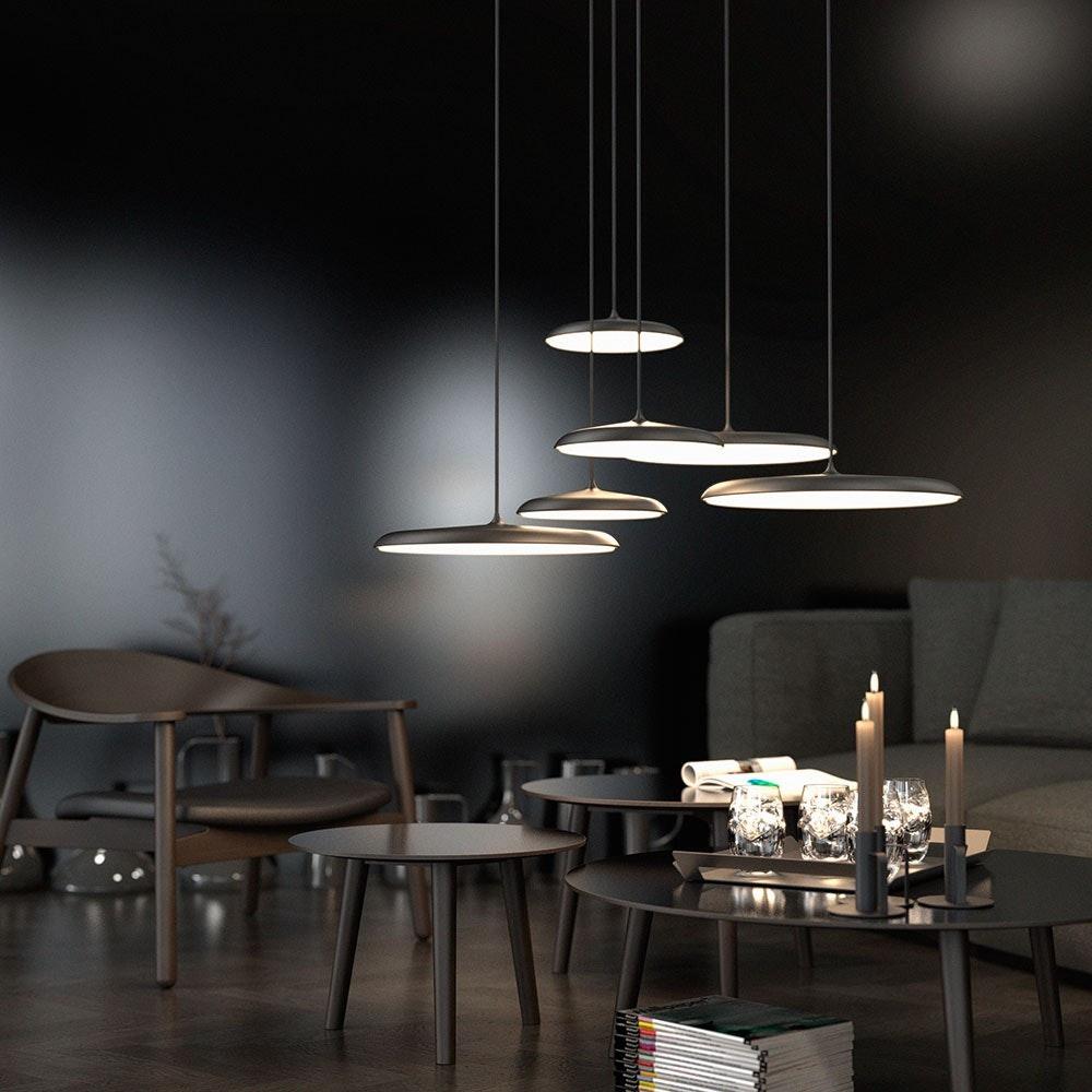 Design for the People Artist 25 LED Pendelleuchte Ø25cm Dimmbar 1000lm Schwarz 9