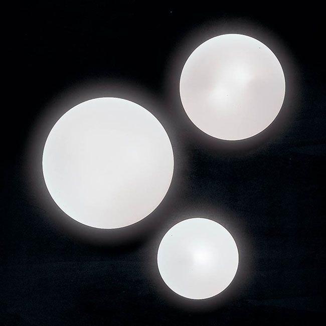 Panzeri Disco LED Glasleuchte für Wand oder Decke 1
