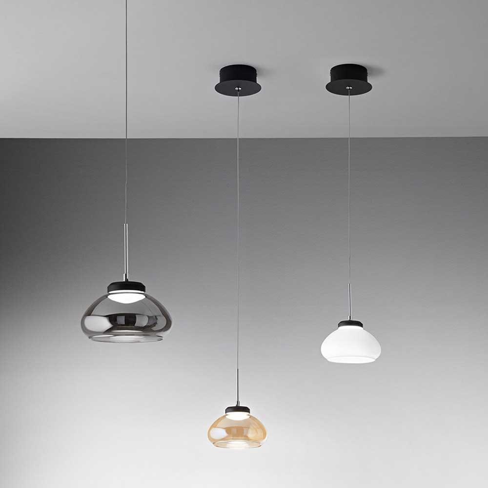 Fabas Luce Arabella LED Pendellampe Metall 1