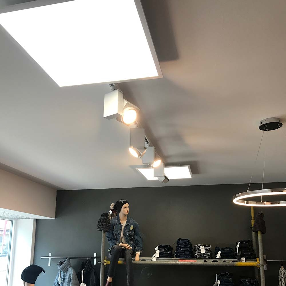 Q-Flat 30 x 30cm LED Deckenleuchte 4000K Weiß 4