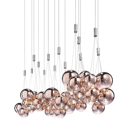 Studio Italia Design Random LED 3er Hängeleuchte 2