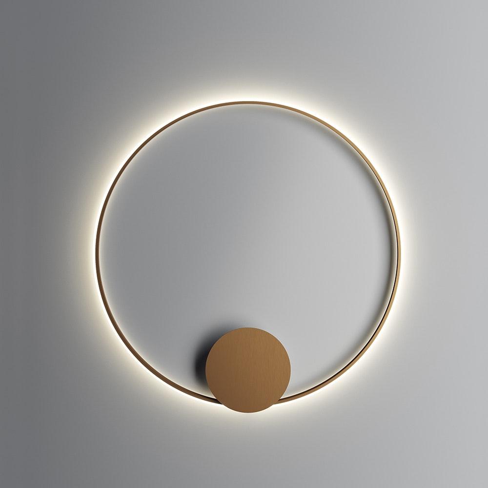 Fabbian Olympic Power LED-Wandleuchte Ø 108,7cm 2