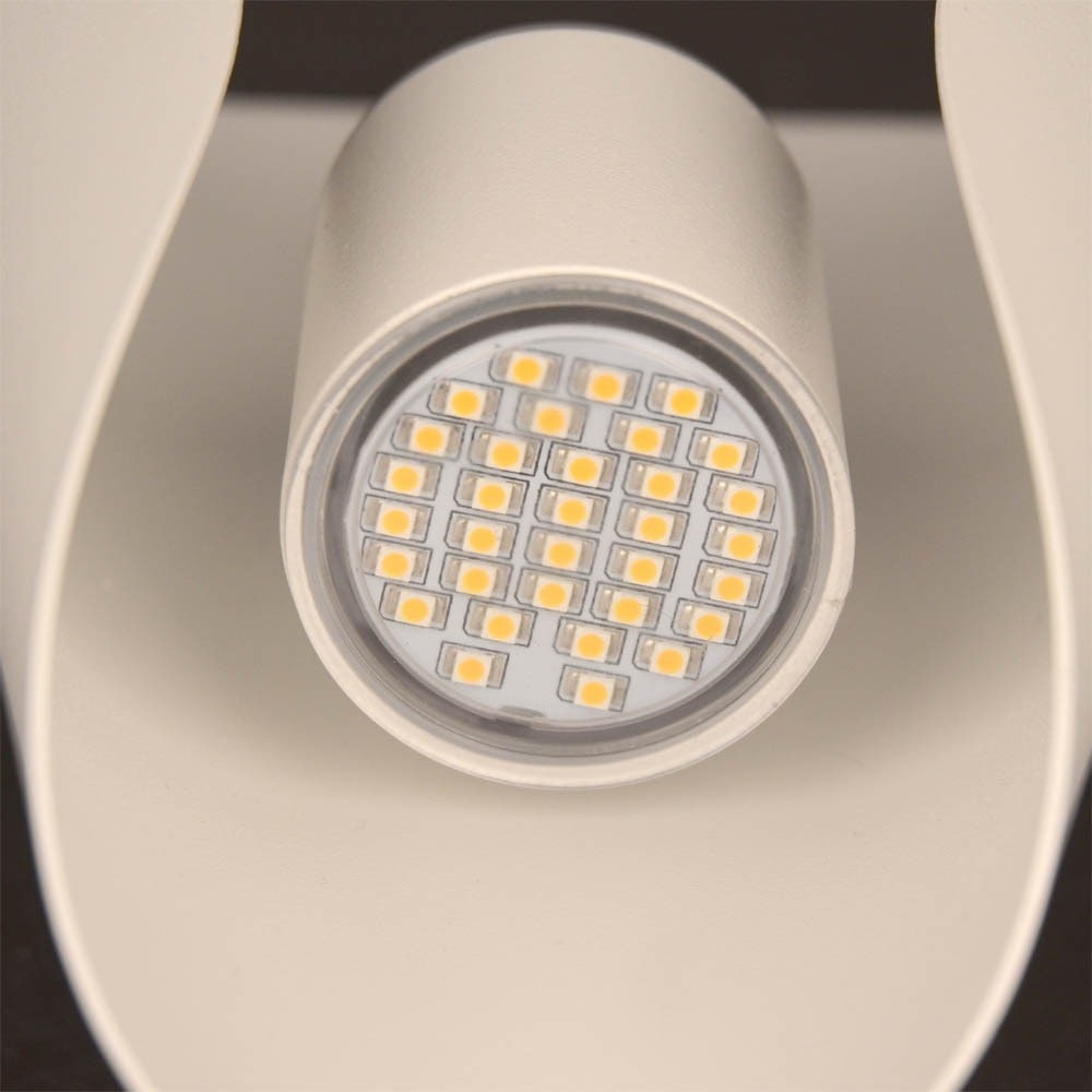 Faglia LED Aussen-Wandleuchte Up&Down 2 x 180lm Weiß thumbnail 4