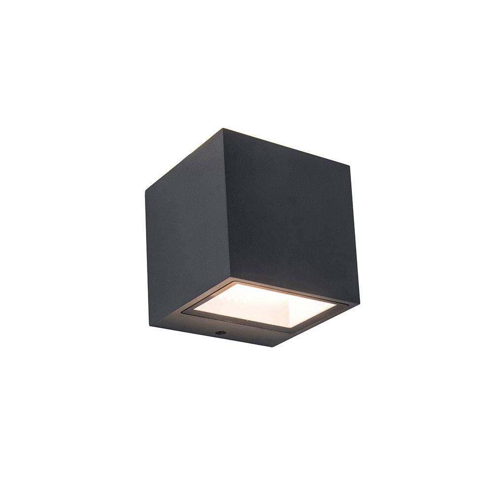 LED Außen-Wandlampe Gemini IP44 Anthrazit 2