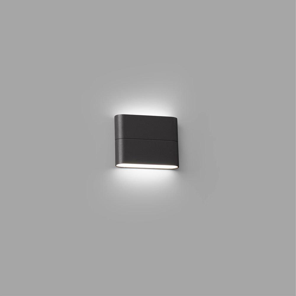 LED Außenwandleuchte ADAY-1 3000K IP54 Dunkelgrau 1