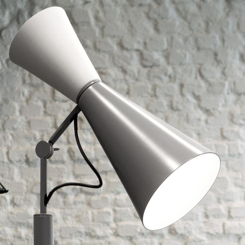Nemo Parliament Stehlampe indirekt/direkt 1