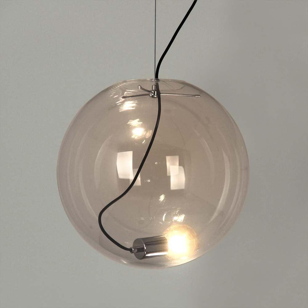 s.LUCE pro Sphere Galerieleuchte Glaskugel 5m Abhängung 11