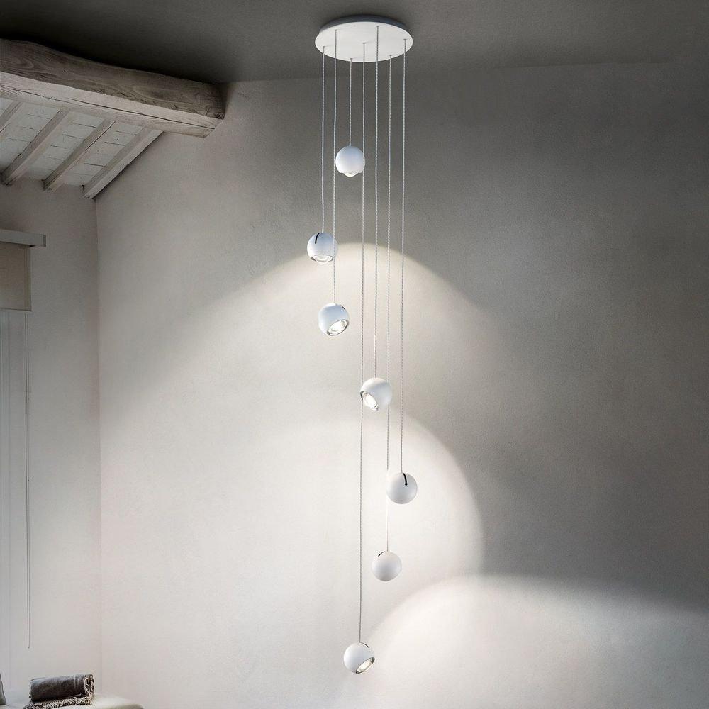 Studio Italia Design Spider LED Hängelampe verstellbar thumbnail 4