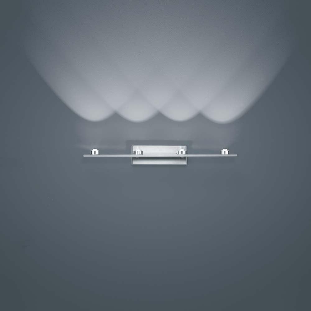 Helestra LED Wandlampe Dori Nickel-Matt 1
