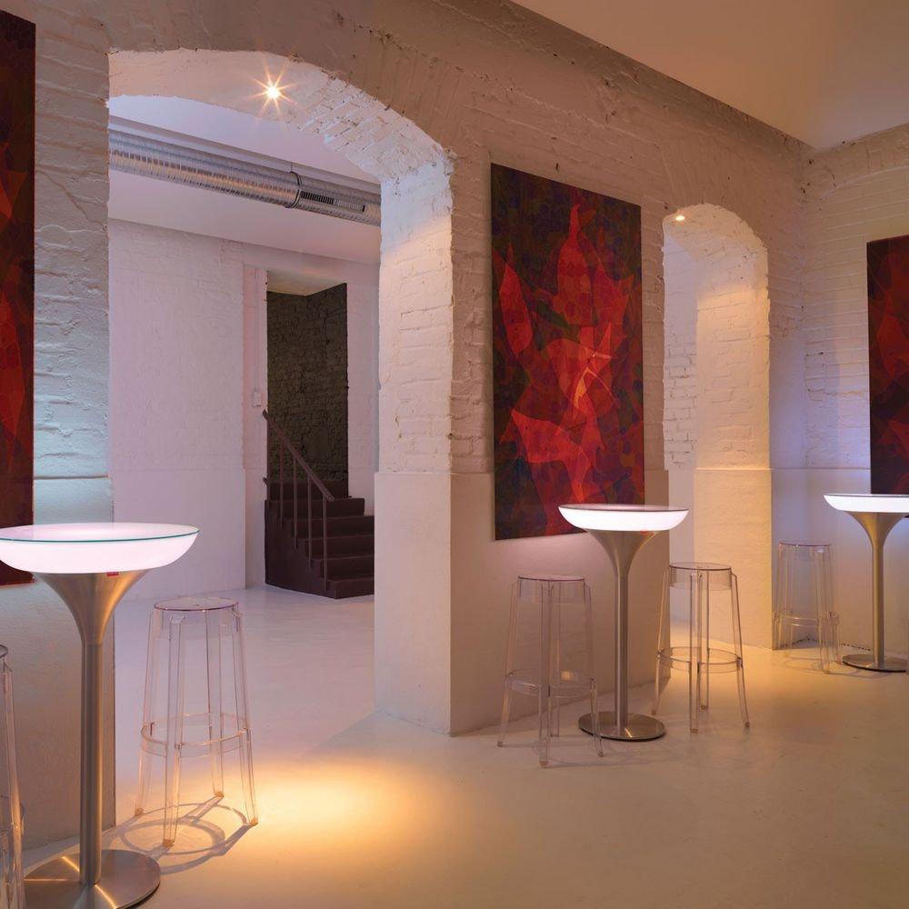 Moree Lounge M 105 LED Tisch mit Akku 3