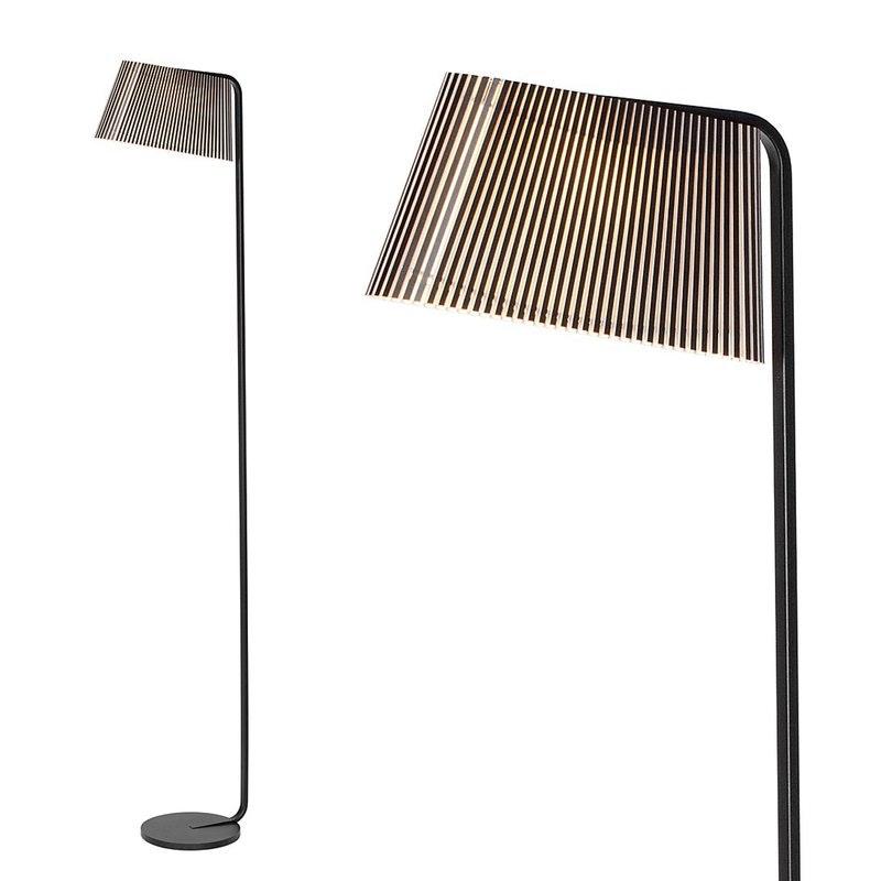 LED Stehleuchten Owalo 7010 aus Holz 168cm 1