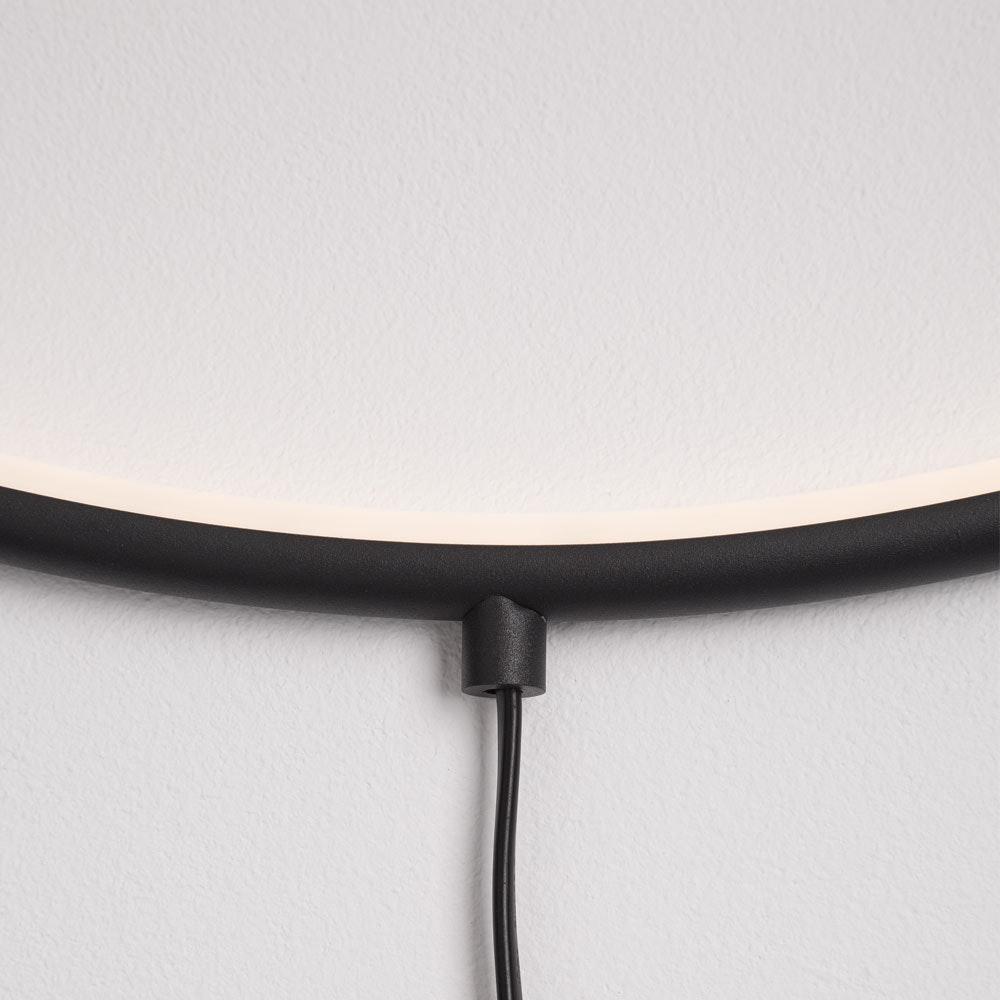Nova Luce Ring LED-Wandleuchte zum aufhängen Schwarz thumbnail 5