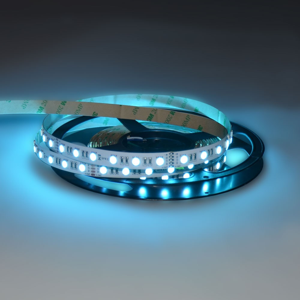 19,2 W/m RGBW Warmweiß 24V 5m LED-Strip IP20 7