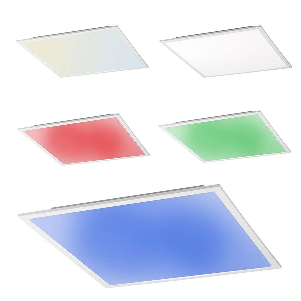 Connect LED Panel Deckenlampe 59,5x59,5cm 4300lm RGB+CCT 3