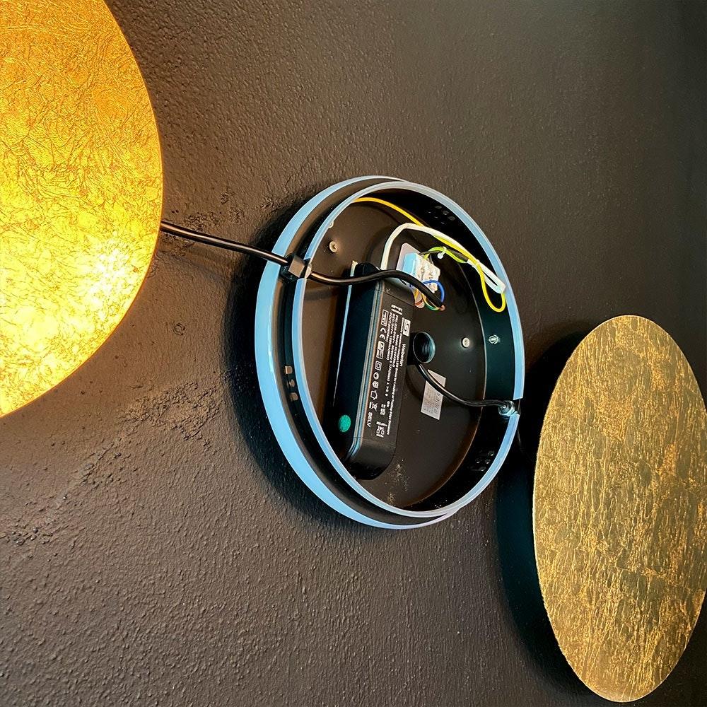 s.LUCE indirekte LED Wandleuchte Plate 24