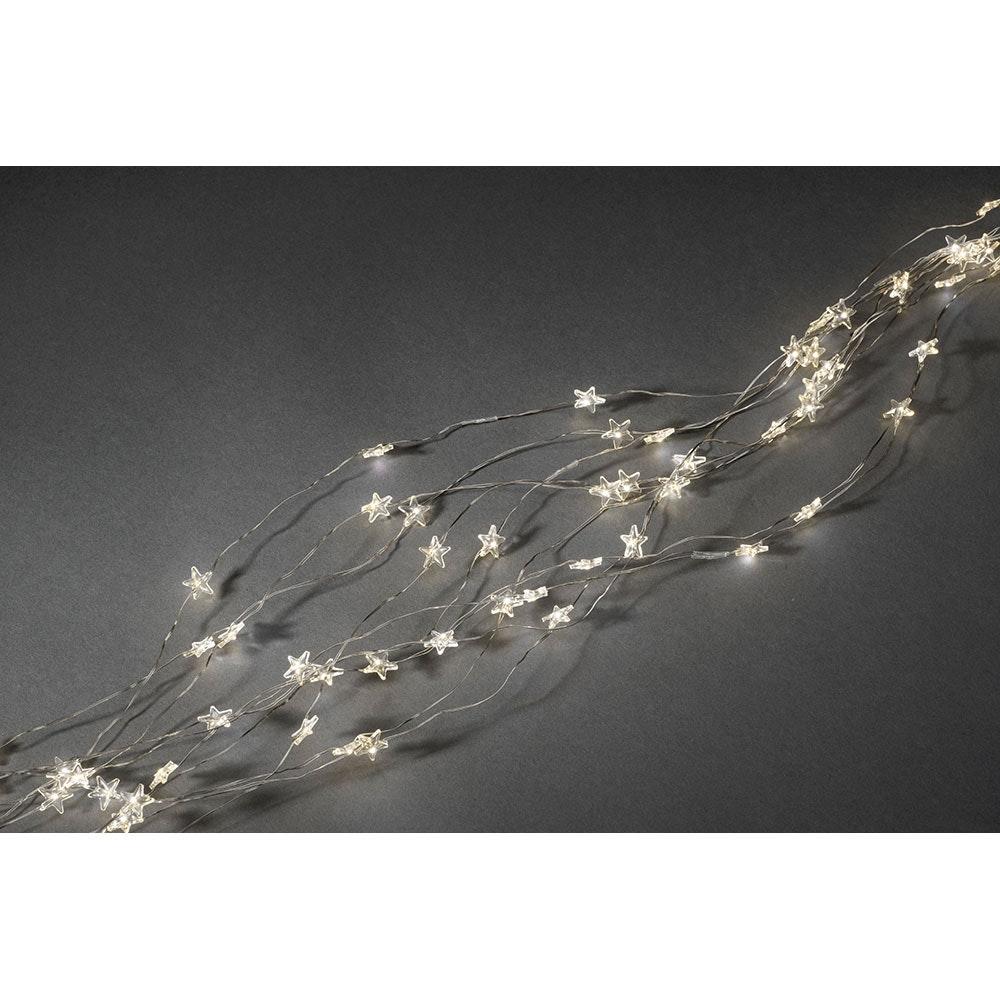 LED Sternenlametta 26 Stränge mit 27 Dioden 702 Warmweiße Dioden 5