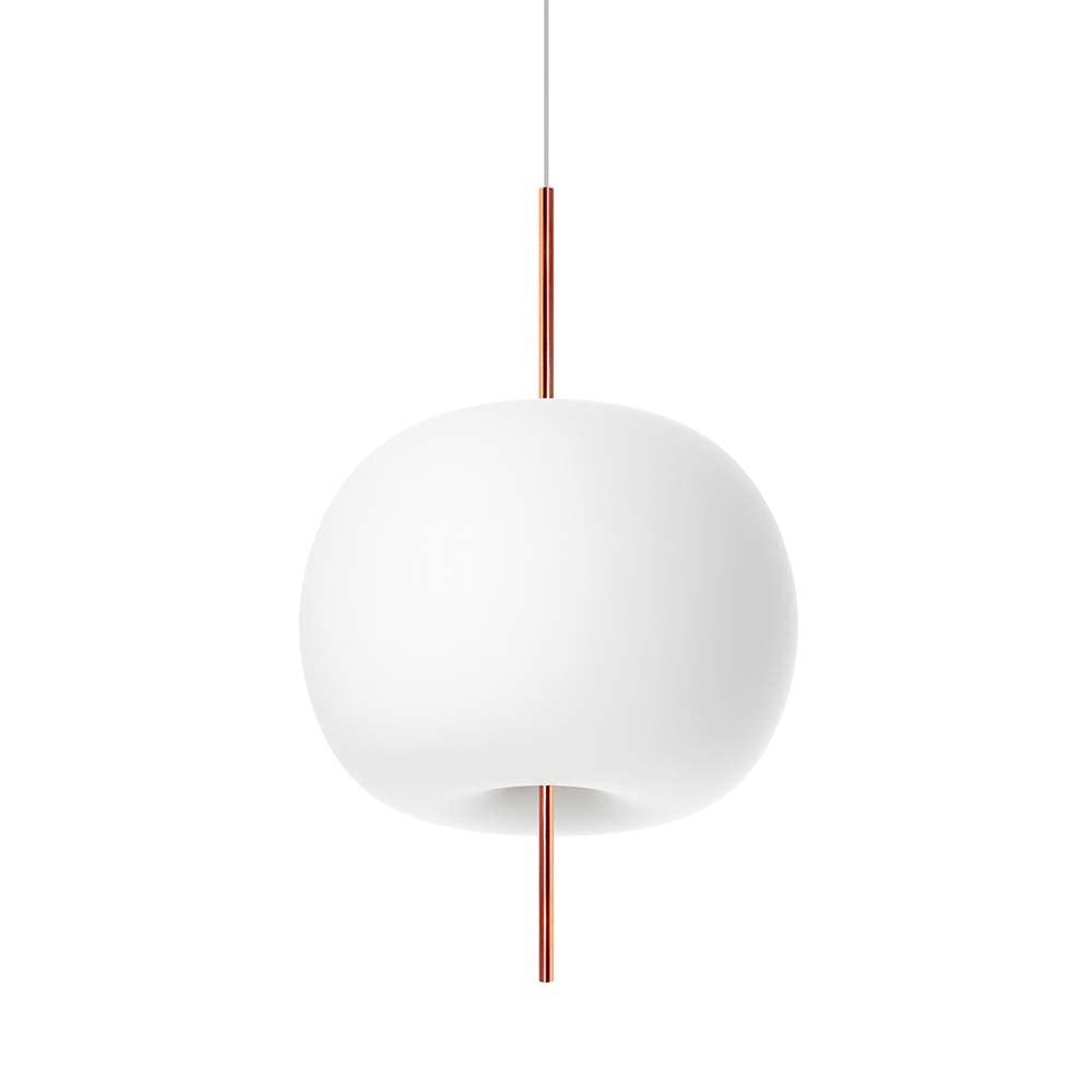 Kundalini Glas LED-Hängelampe Kushi Ø 33cm Dimmbar  1