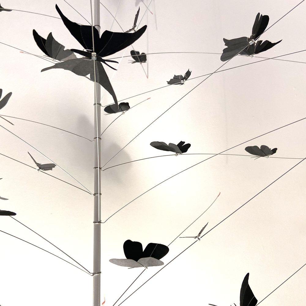 Ingo Maurer LED Pendellampe La Festa delle Farfalle weiss thumbnail 5