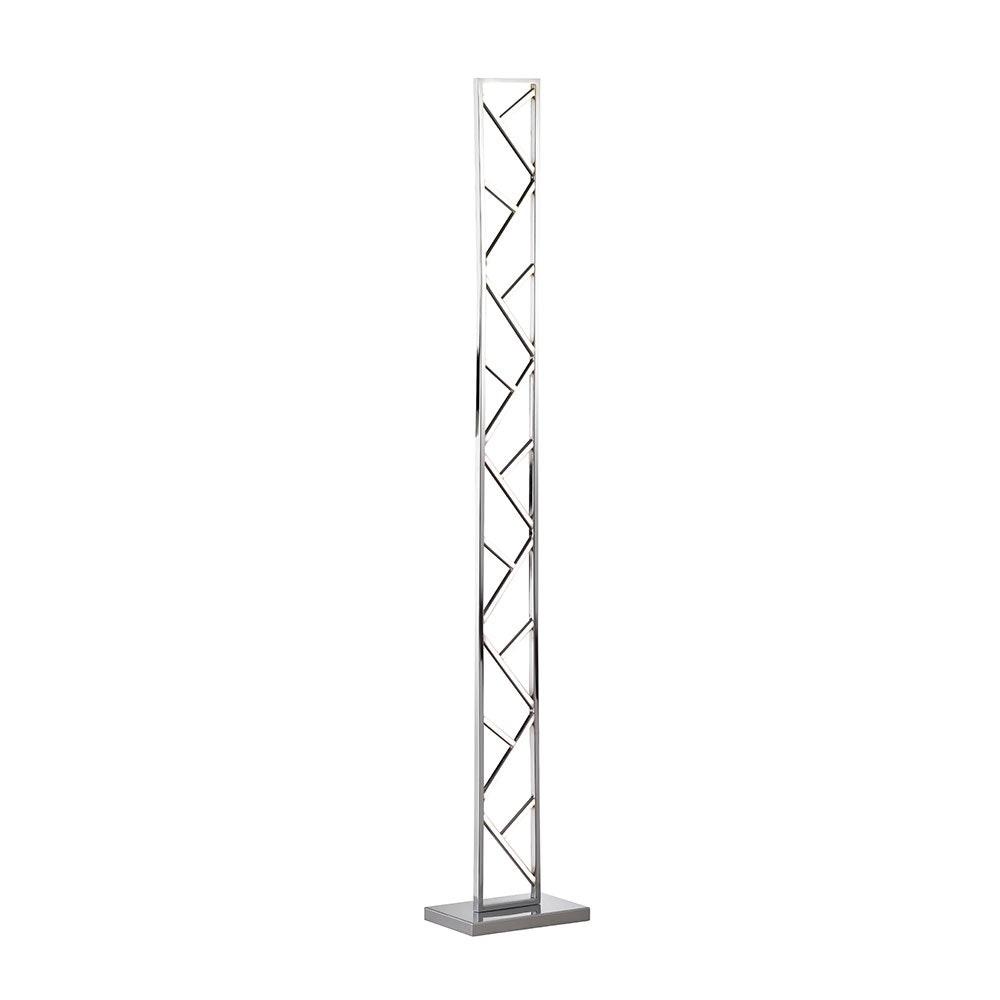 LED Standleuchte Fox 1460lm Nickel-Matt