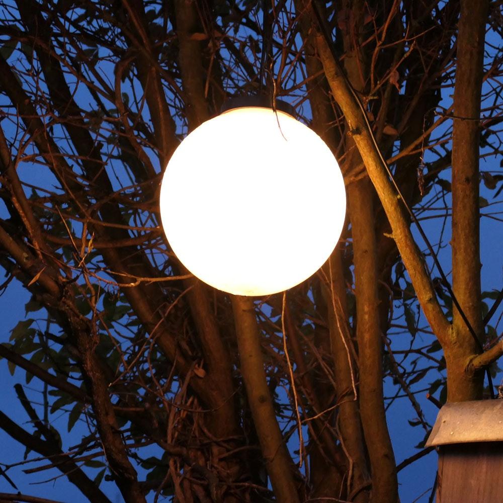 s.LUCE Hänge-Globe Kugellampe mit 15m Kabel IP54 13