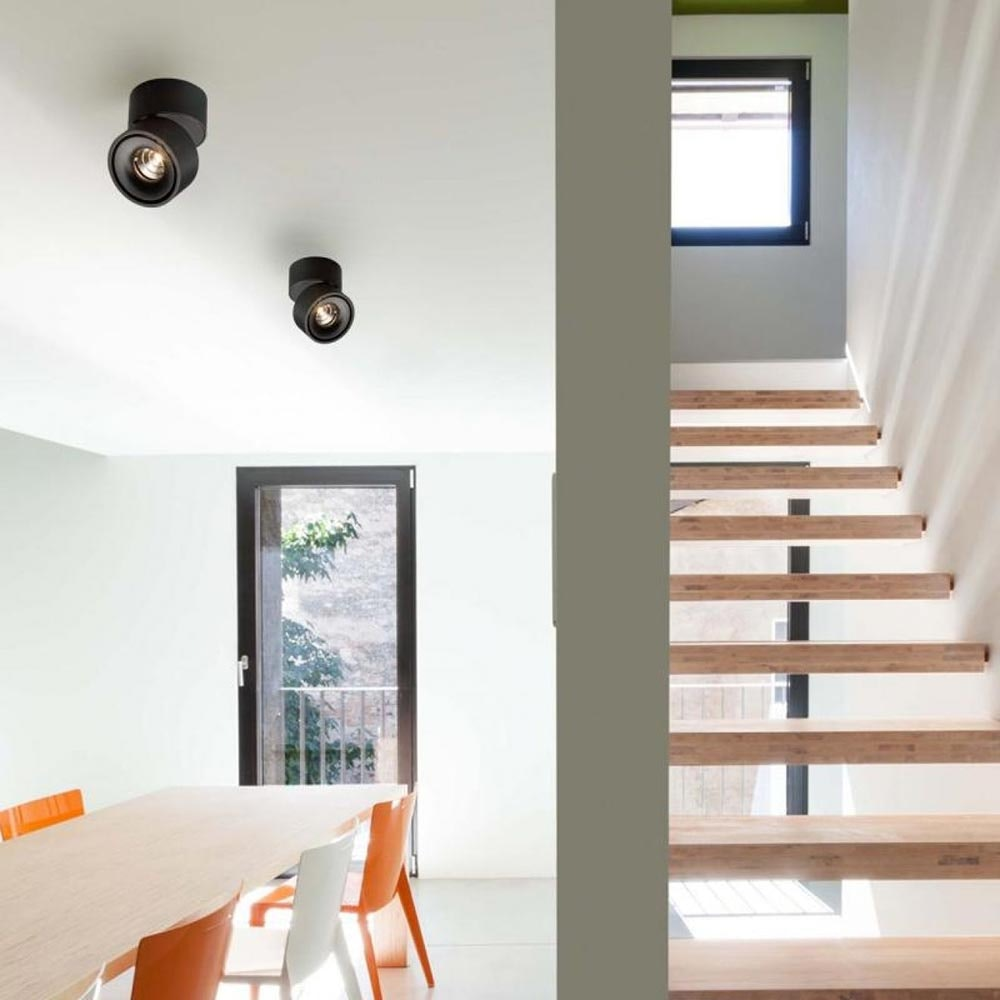 Licht-Trend LED Aufbaulampe Simple 1320lm Schwarz 4