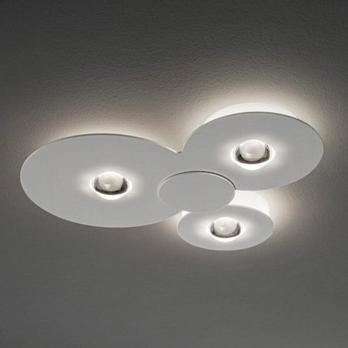 Studio Italia Design Bugia Triple LED Deckenlampe 1