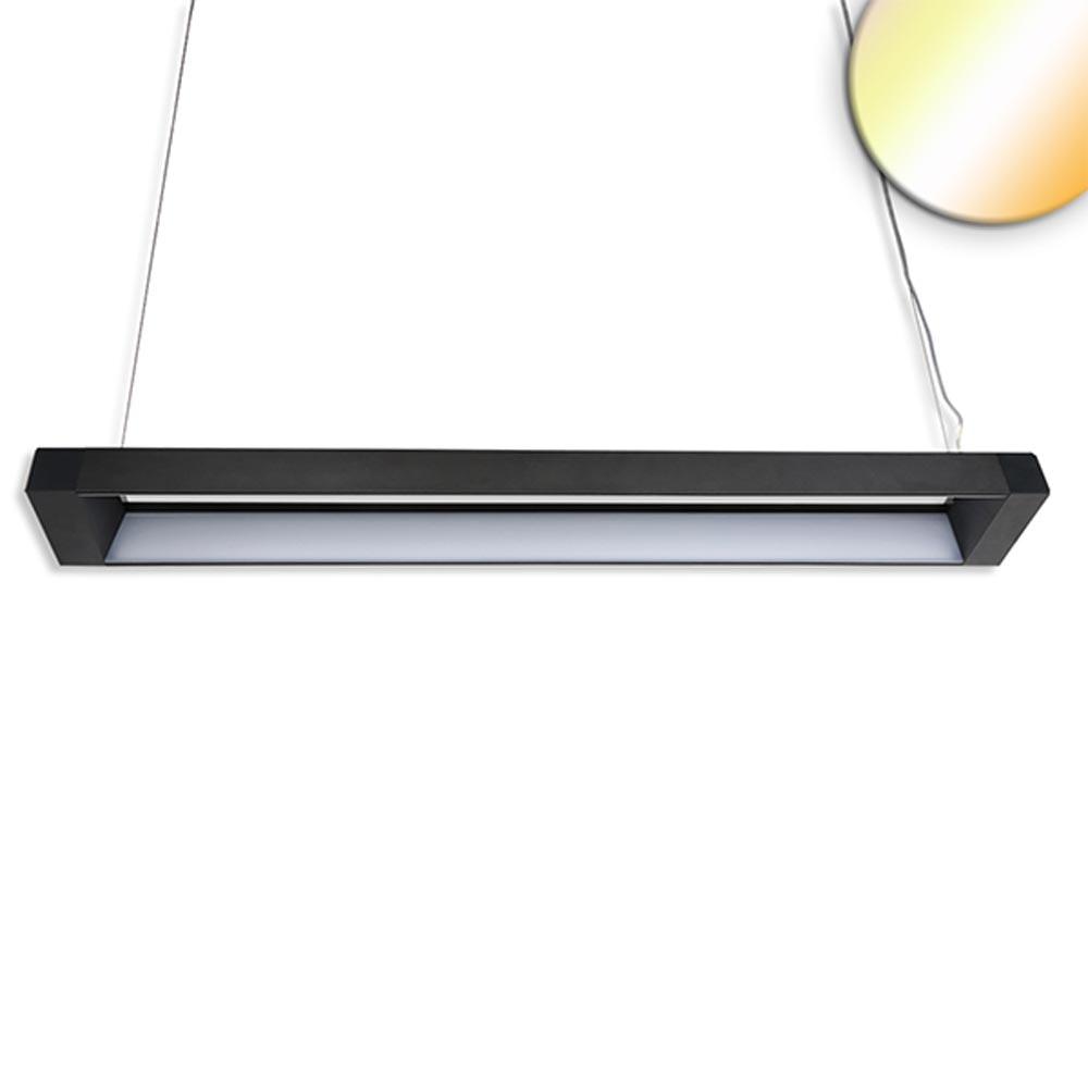 Büro LED Pendel-Schreibtischleuchte 3600lm Schwarz ColorSwitch 3000|4000|5700K 1