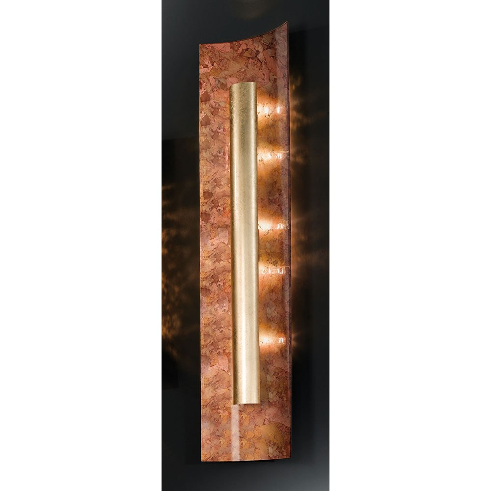 Aura Herbst Wand- & Deckenleuchte 4-flammig Gold 100cm