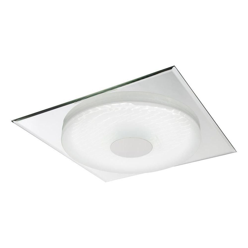 Treviso I Deckenleuchte LED quadratisch, 3D-Effektfolie, 3000K-4500K-6000K, dimmbar 2000lm 2
