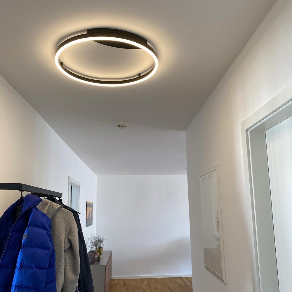 s.LUCE Ring 40 LED Decken & Wandlampe Dimmbar 12